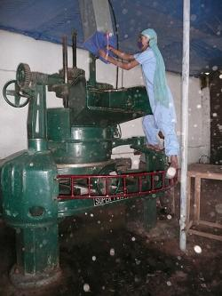 """Roller Machine"" (Kanchenjunga Tea Estate / Népal)"